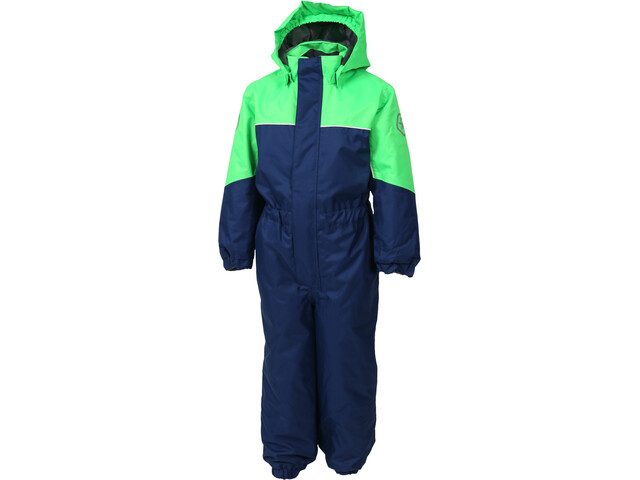 Color Kids Kazor Padded Coverall Kids, toucan green